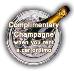 Rent a limo Essex - free bubbly